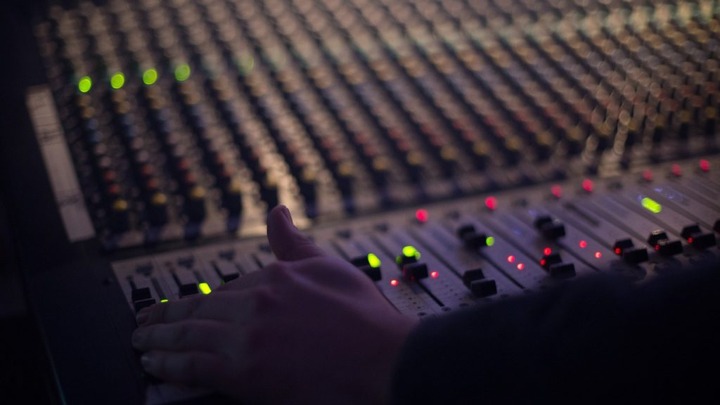 audio, technology, mixer
